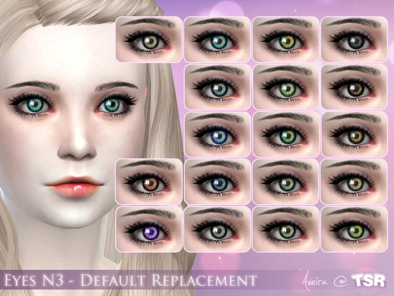 Aveira S Eyes N3 Default Replacement