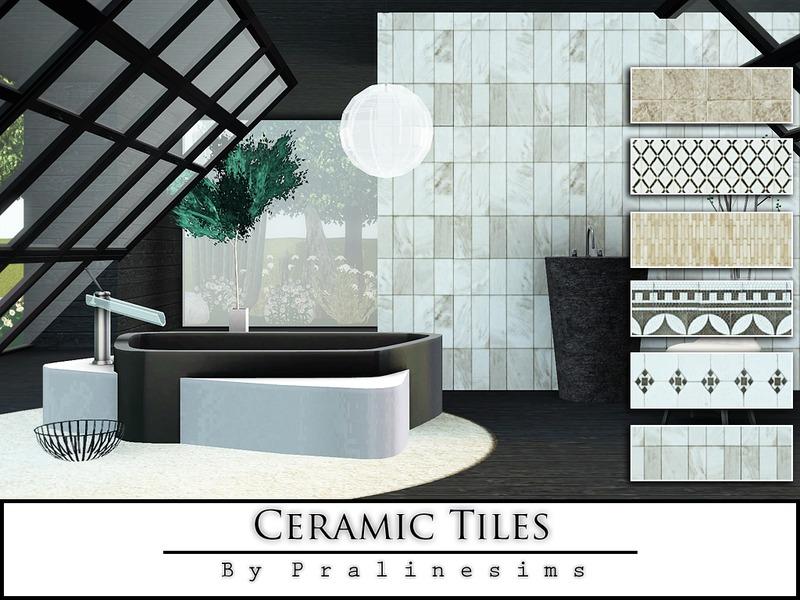 Pralinesims Ceramic Tiles