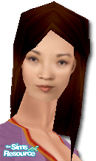 "Sims 1 — Jing-Mei Chen by Caryl — Ming-Na as the character Jing-Mei Chen from television serie ""ER""."
