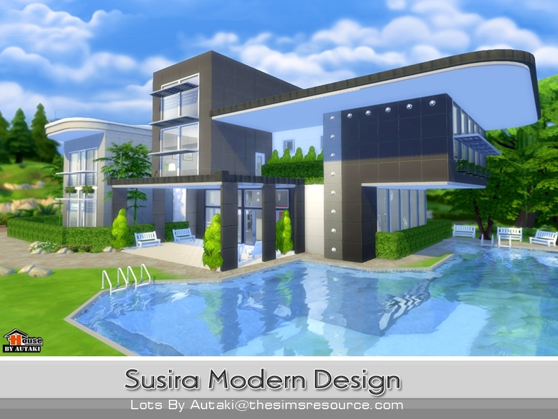 autakis susira modern design - Sims 4 Home Design