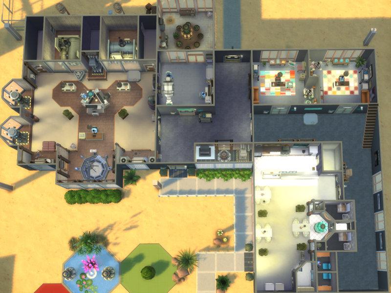 Science Building Sims  Custom