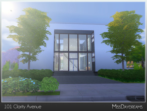 Sims 4 — 101 Clarity Avenue by MissDaydreams — 101 Clarity Avenue is a contemporary house for big family. Recommended