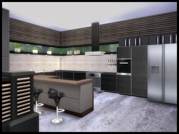 Chemy 39 s altara modern living for Living room designs sims 4