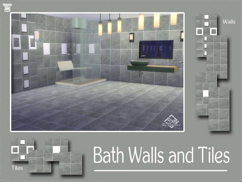 Devirose\'s Bath Walls and Tiles Floor