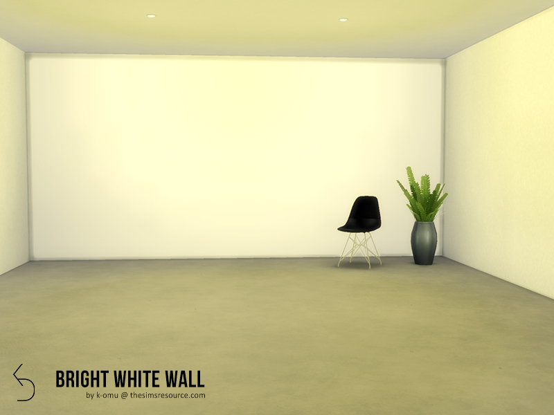 k-omu\'s Bright White walls