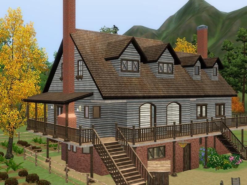 ramborocky90's colonial farm house (unfurnished)