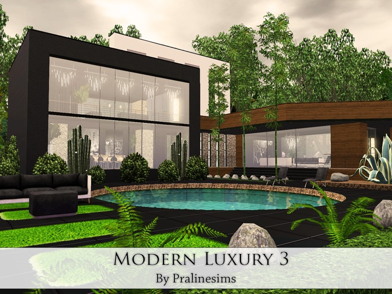 Sims 3 modern homes downloads