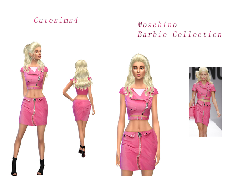 Moschino Collectible Barbie Dolls | Barbie Signature