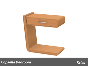 Sims 3 — Capsella Bedroom Nightstand Left Side by Kriss — Made by Kriss@TSR. TSRAA