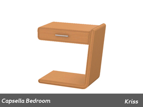 Sims 3 — Capsella Bedroom Nightstand Right Side by Kriss — Made by Kriss@TSR. TSRAA