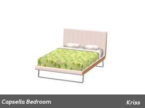 Sims 3 — Capsella Bedroom Bed by Kriss — Made by Kriss@TSR. TSRAA