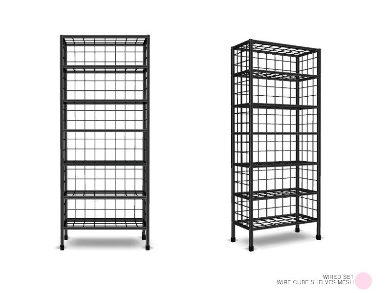 DOT\'s Wire Cube Shelves Mesh