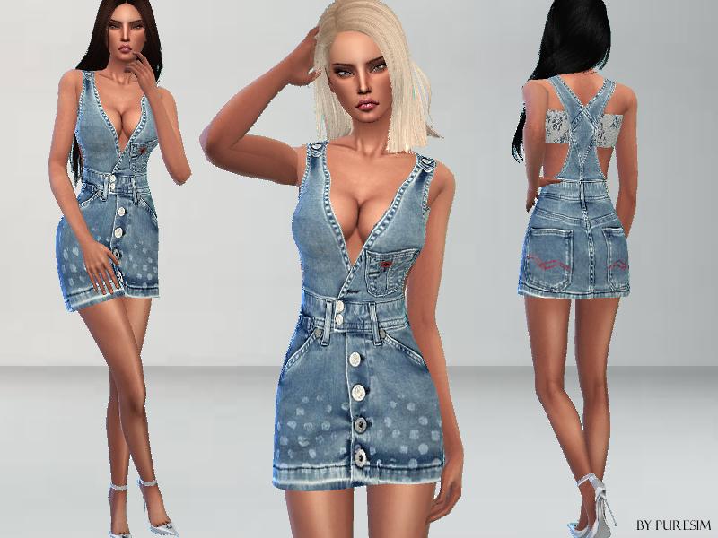 Puresim's Denim Dress