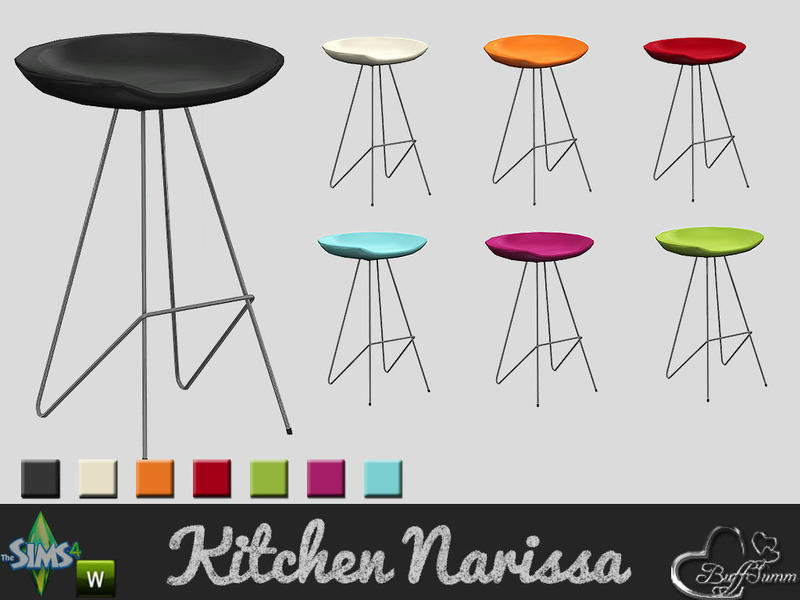 Buffsumm S Kitchen Narissa Barstool