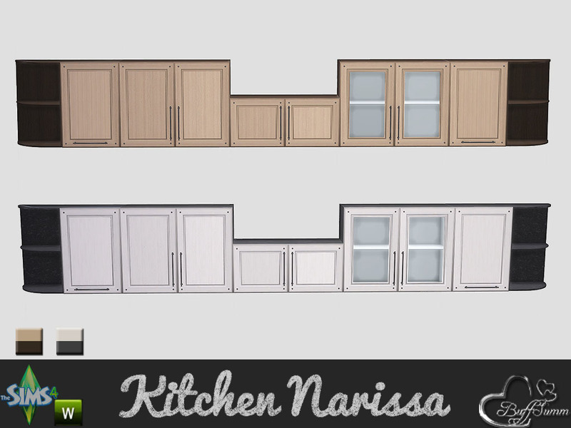 sims 4 kitchen cabinets download buffsumm s kitchen narissa cabinet two 26147