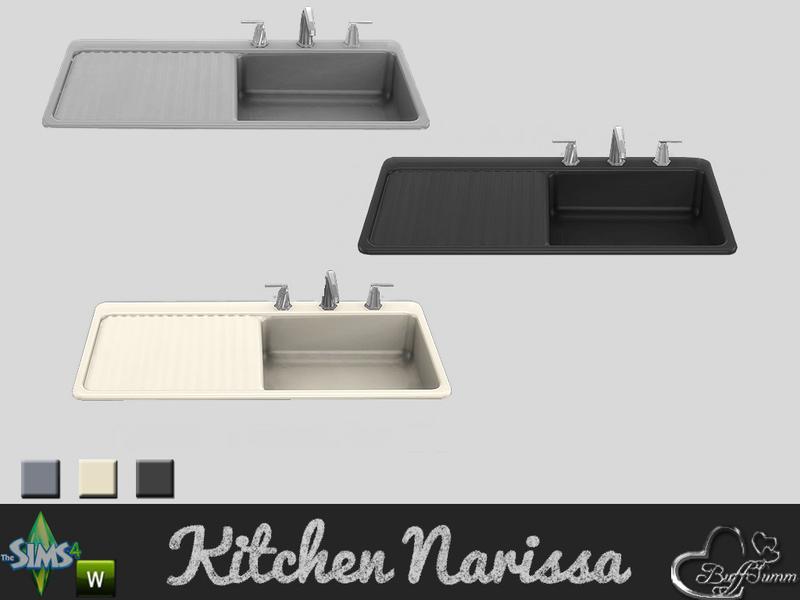 BuffSumm s Kitchen Narissa Sink