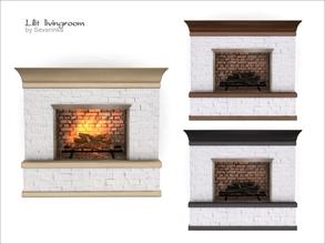 Sims 4 Fireplaces - 'livingroom'