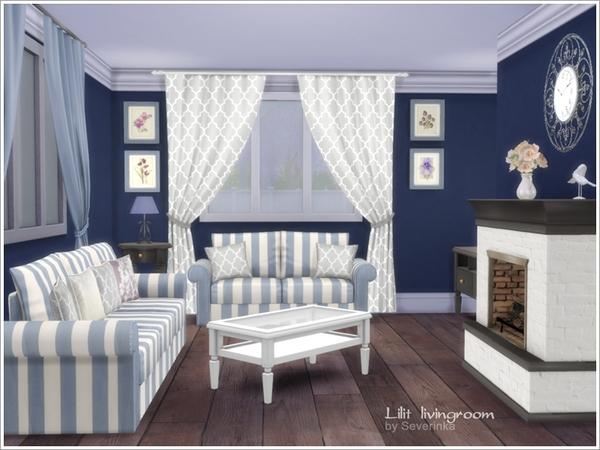 Severinka 39 s lilit livingroom for Sims 4 living room ideas