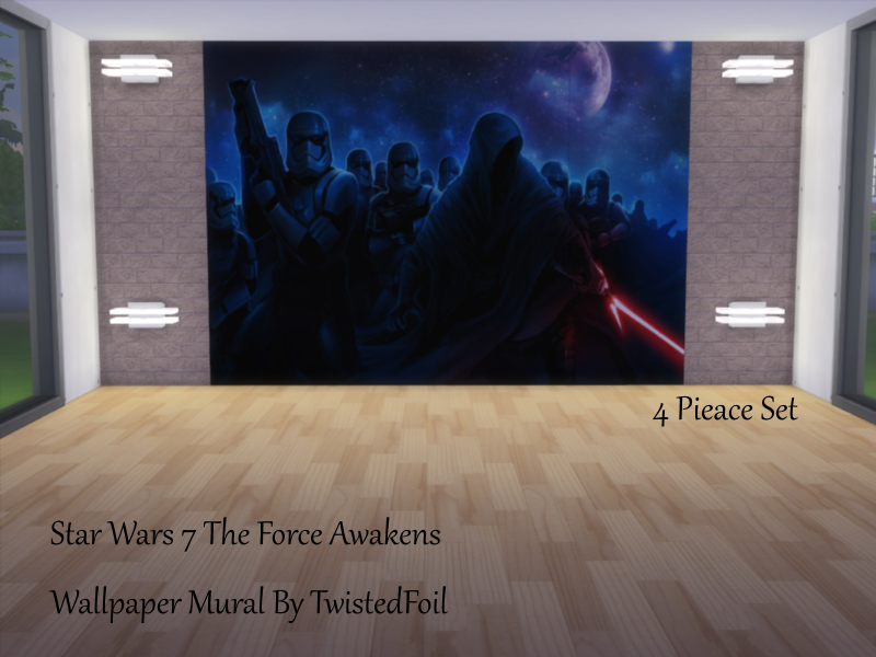 Twistedfoil S An Set Of Star Wars Wall Murals
