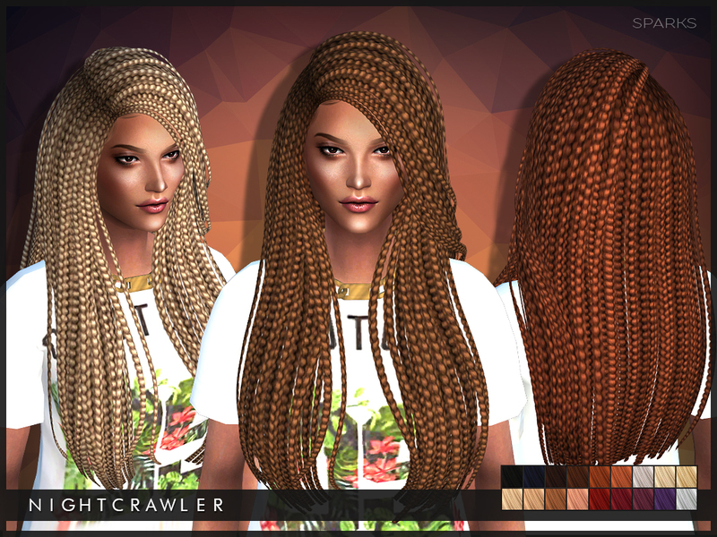 Astonishing Nightcrawler Sims39 Nightcrawler Sparks Short Hairstyles For Black Women Fulllsitofus