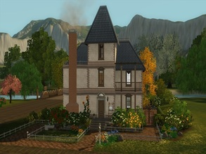 Sims 3 — The White Delilah by GoopyCarbon — This old fashioned home is very suitable for a growing family. Fully