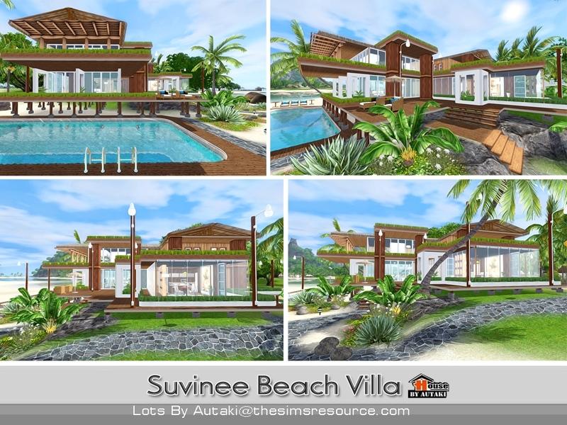Autaki 39 s suvinee beach villa for Beach house 3 free download