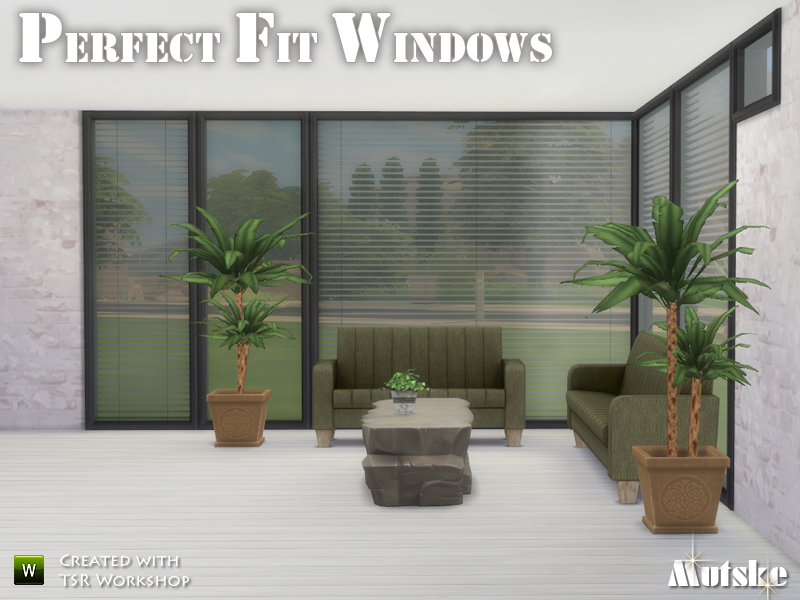 Mutskes Perfect Fit Windows
