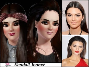 Sims 3 — Kendall Jenner by MayarYosuf2 — Who said you can't have Kendall Jenner's life? Well here I brought her for All
