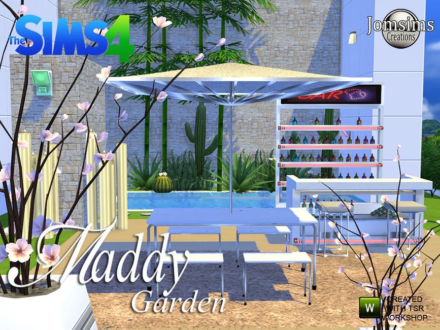jomsims' Maddy modern Garden set.