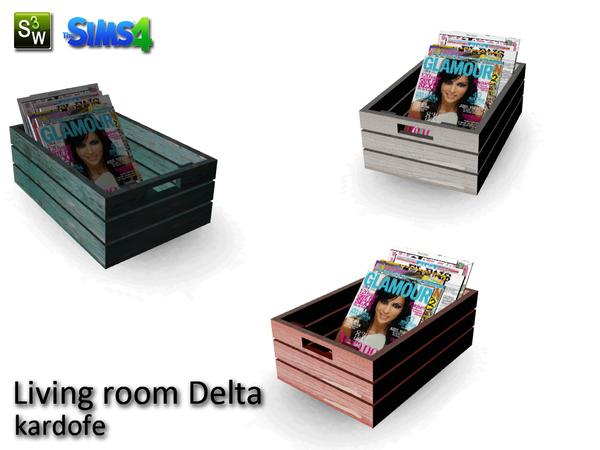Kardofe_Living Room Delta_Magazine Rack