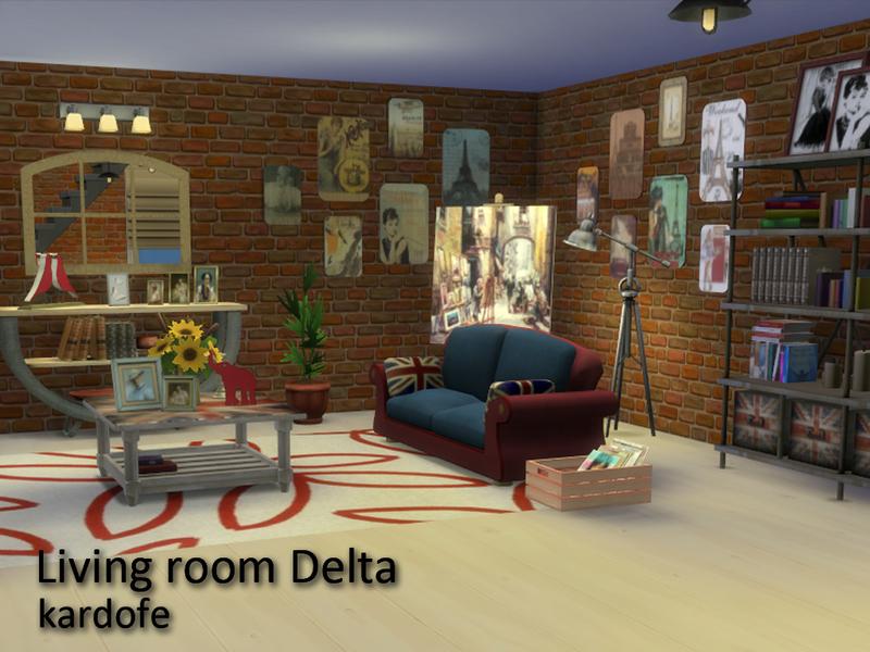 Kardofe Living Room Delta