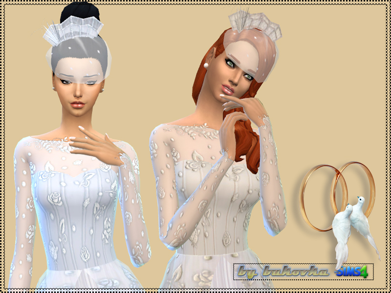 Sims 4 Wedding Veil.Sims 4 Downloads Veil