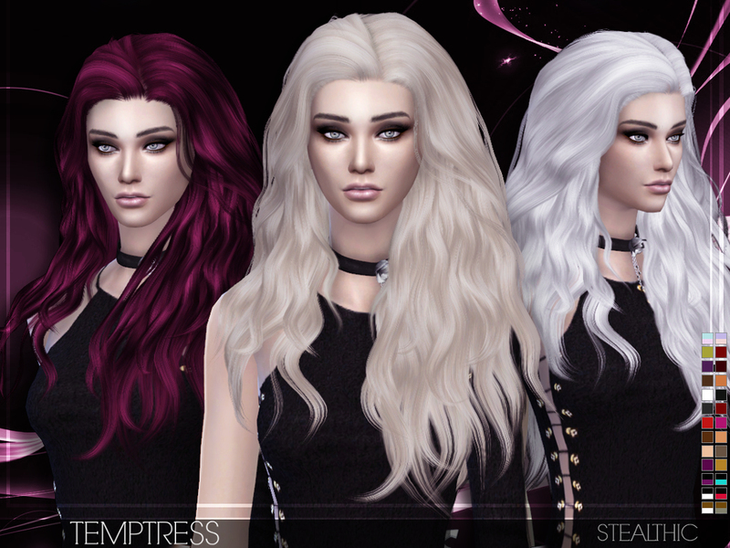 Stealthic Temptress Female Hair
