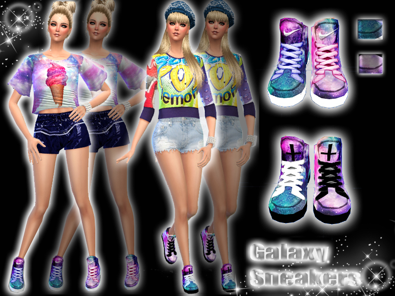 Pinkzombiecupcakes Galaxy Set