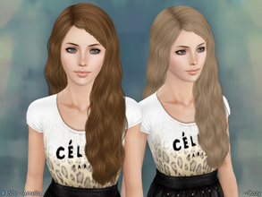 Sims 3 — Amelia Hairstyle - Braided T~E by Cazy — Hairstyles for Female, Teen through Elder. All LOD included.