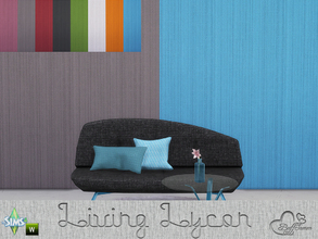 Sims 4 — Lycon Wall Set by BuffSumm — Colorfull, modern, clear and just pretty... A wonderfull addition to the Lycon