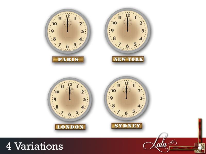 Lulu265's Kenwood Bedroom World Clock