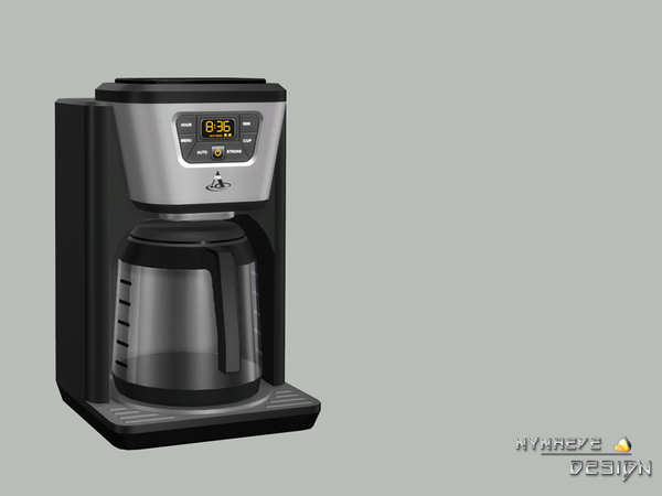 How To Use Coffee Maker In Sims Freeplay : NynaeveDesign s Altara Coffee Maker