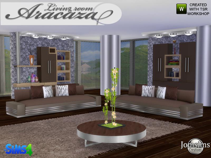 Jomsims 39 aracaza living room for Living room hair salon