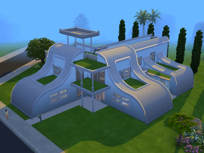 Futuristic House Best Ramborocky90's Futuristic House Decorating Design