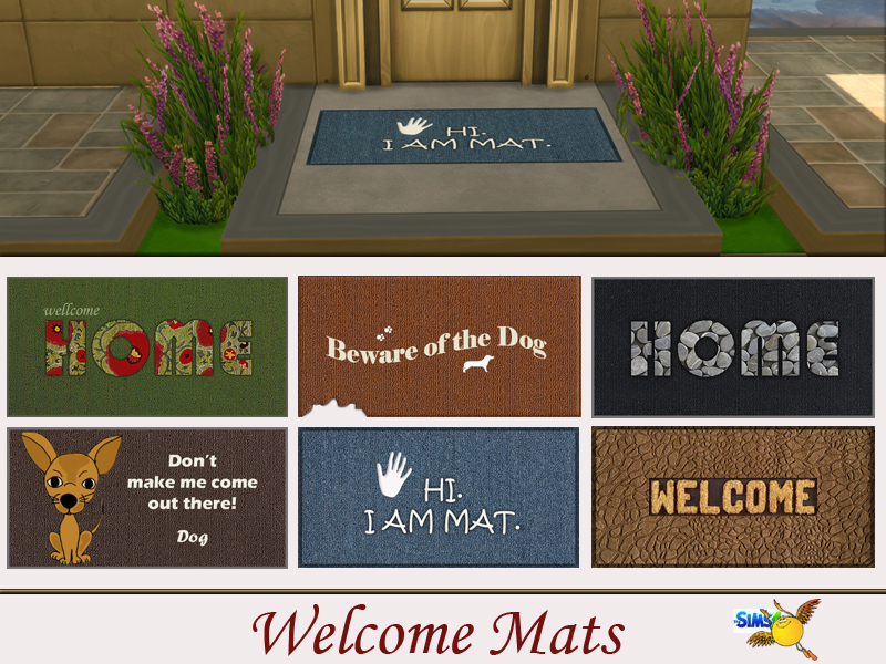 promotions mat welcome mats bdpdesign