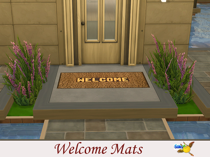 image mat prweb welcome creative mats inhabit source com spring zone home ideas