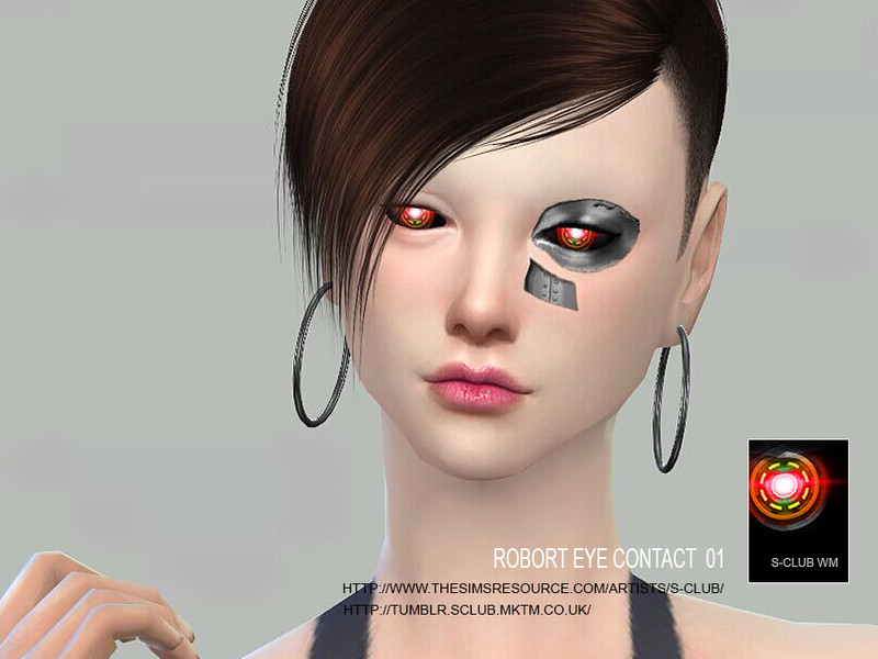S-Club WM ts4 robot eye contact 01
