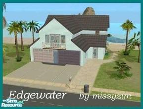 Sims 2 — Edgewater by missyzim — Small beachside vacation home. Fully furnished. All Maxis content.