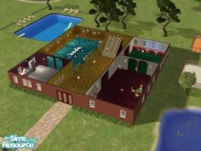 Sims 2 — Elite University Mansion by maja89 — Hi, this is my first submission, i hope you like it. It\'s not too much,