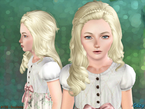 Sims 3 — Roulette Hairstyle - Child by Cazy — Hairstyle for Female, Child. All LODs included.