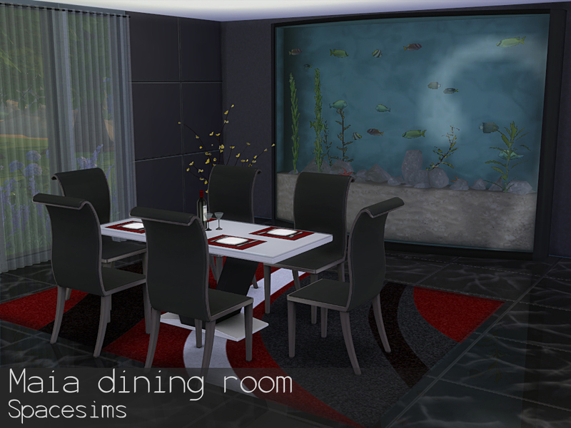 Spacesims Maia Dining Room