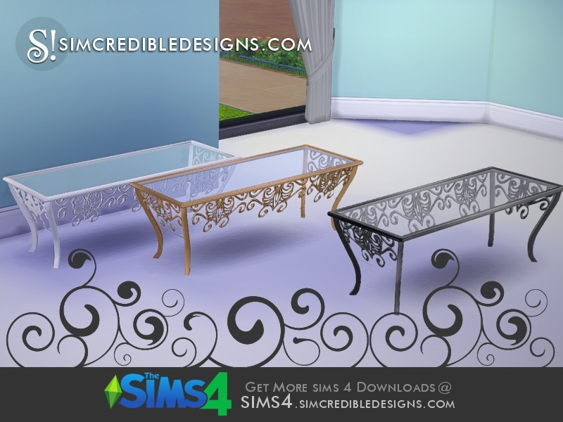 Simcredible 39 s we love peacock coffee table for Peacock coffee table
