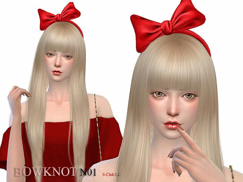 S Club Ll Ts4 Bowknot 01
