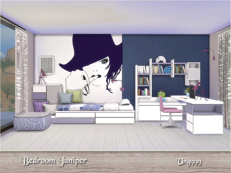 Ung999 39 s bedroom juniper for Bedroom decorating simulator